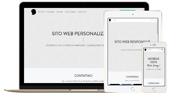 SITO WEB RESPONSIVE 100
