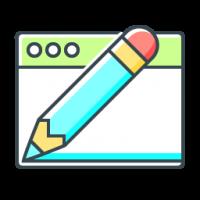 Icona WEB design