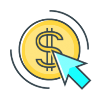Icona pay per click