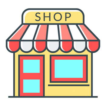 Icona e commerce Woocommerce