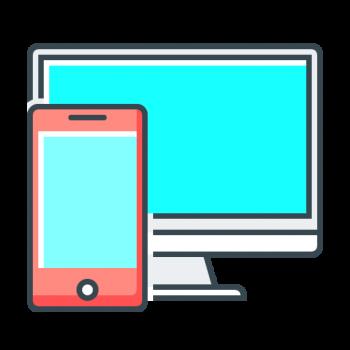 Icona responsive design